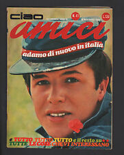 CIAO AMICI 41/66 NEW DADA FRANCE GALL LIDDEL O.S.I. SCARABEO SANDIE SHAW POSTER