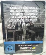 Dr Strangelove Blu Ray Pop Art Steelbook