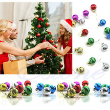 12pcs 3cm Christmas Tree Balls Decorations Baubles Party Wedding Ornament Xmas