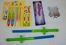 Wandarama ~ Set of Two Wands ~ Amazing Supercharged Floating Toy Fun!