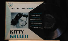 Kitty Kallen-Pretty Kitty Kallen Sings-Mercury 25206-10 INCH