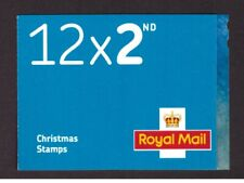 GB 2017 Booklet Christmas 2nd cylinder complete LX53 mint stamps
