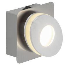 LED Wand Leuchte Lampe Licht 1er Spot Strahler CROSSING nickel alu 320 lm NEU