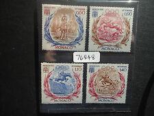 Monaco 1972 Olympics (4v Set) (SG 1046-1049) MNH