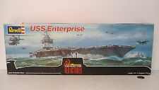 REVELL #4008 1/720 THE HUNT FOR RED OCTOBER USS ENTERPRISE  IN ORIGINAL BOX !!!