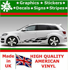"""10"""" High Car Side Stripes Graphic Decal Vinyl Stickers Van Auto Rally Race F1_67"""