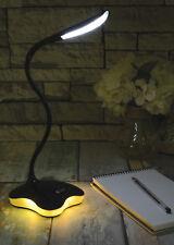 USB LED a bassa potenza collo di cigno TIPO LAMPADA DA TAVOLO ELETTRONICA Gioielli Riparazione Nero