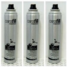 3 Cerafill Maximize TEXTURE EFFECT Hair & Scalp Refresher SPRAY 3.4 oz Ea (776)