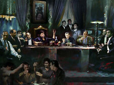 SCARFACE GODFATHER GOODFELLAS,SOPRANOS,Al Pacino,Deniro,Brando,Last Supper Star