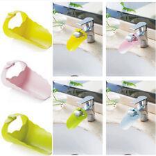 Faucet Tap Extender Children Toddler Kids Hand Washing Bathroom Sink Tubs