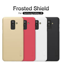 Samsung Galaxy J8 Nillkin Super Frosted Shield Shockproof Back Case Cover