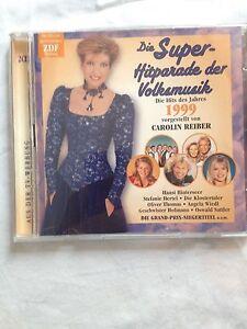 Super Hitparade der volksmusik 1999,Carolin Reiber