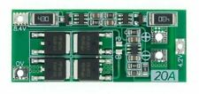 2S 20A Balanced Charge & Discharge LiPo 18650 Battery BMS PCB Board 8.4V