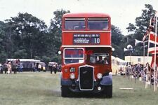 PHOTO  THAMES VALLEY BUS JRX 823 AT HUNGERFORD COMMON 1978