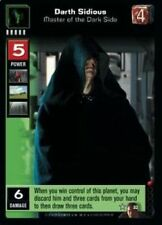 Star Wars Young Jedi CCG Duel of the Fates Darth Sidious, Master OT Dark SIde 32