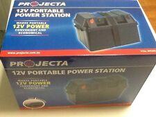 PROJECTA 12V PORTABLE POWER STATION CARAVAN BATTERY BOX, CAMPER, CAMPING BOAT