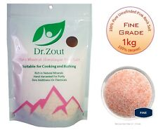 1KG FINE Pink Himalayan Salt 100% Natural Unrefined Pure Food Grade
