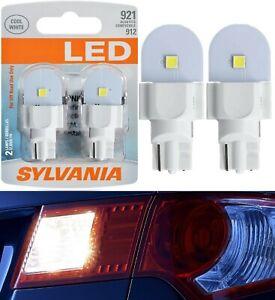 Sylvania LED Light 921 White 6000K Two Bulbs High Mount Stop 3rd Brake Stock Fit