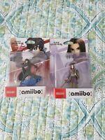 Super Smash Bros Joker amiibo and Hero Amiibo Lot 2 Nintendo Switch, WiiU NEW