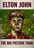 ELTON JOHN 1998 THE BIG PICTURE TOUR CONCERT PROGRAM BOOK / BOOKLET / EX 2 NMT