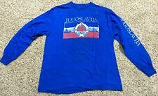 New listing Vintage 80s Yugoslavia Longsleeve shirt Large