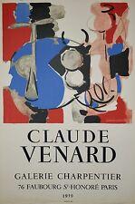Claude VENARD - Affiche originale - Galerie Charpentier 1959