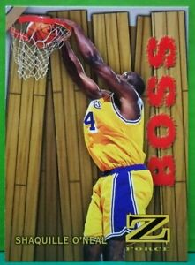Shaquille O'Neal insert card Boss 1997-98 Skybox Z-Force #14
