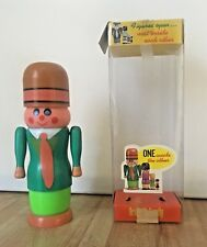 Vintage DAC Toymakers Friendly Family 4 Figure Nesting Toy