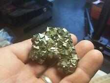 Pyrite crystal cluster 105.37 grams