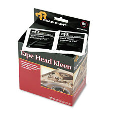 Read Right Tape Head Kleen Pad Individually Sealed Pads 5 x 5 80/Box RR1301