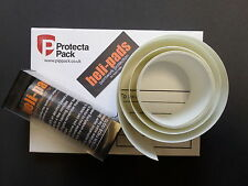 helicopter bike frame protection tape heli-pads 100mmx2mtrs optically clear