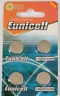 10 x AG13 1.55V LR44 Eunicell Alkaline Batteries G13 L1154F A76 - Pack of 10