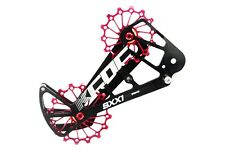 KCNC SXX1 MTB Bicycle Bike Oversized Pulley Wheel Cage for Sram Eagle X01 Red