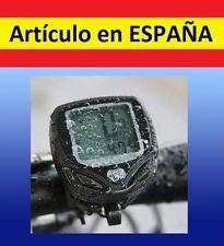 LCD VELOCIMETRO wireless WATERPROOF bicicleta bici mtb SIN cables BICI agua