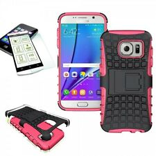 HYBRID COQUE PROTECTRICE 2 pièces rose pour Samsung Galaxy S7 G930 G930F+H9