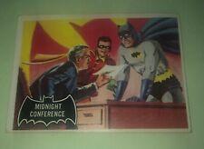 1966 Topps Batman #4: Midnight Conference- Black Bat Card