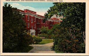 Vintage 1920's Girls Dorm East State Normal, Johnson City Tennessee TN Post Card