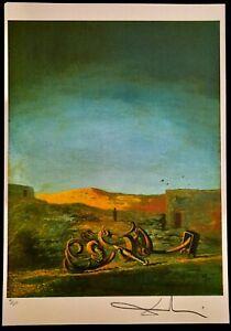 Salvador Dali Lithographie Limitierte Auflage Nr. 61/350