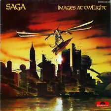 """12"""" Saga Images At Twilight (Slow Motion, Mouse In A Maze) 80`s Polydor"""