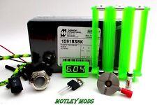 Unregulated,Box Mod Kit DiY,Hammond 1591B,18650 Triple,510 Connector,Mosfet,vape