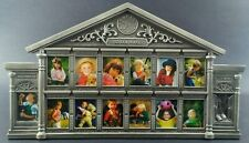 """School Years Picture Frame K-12 Wallet Photos School House Pewter Metal 13"""" x 8"""""""