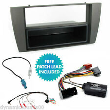 Car Stereo Fascia Fitting Kit Stalk Control Adaptor For Jaguar X-Type 2002-2013