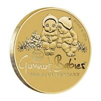 Australia 2016 May Gibbs Gumnut Babies 100th Anniv. $1 Dollar UNC Coin Carded
