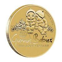 Australia 2016 May Gibbs Gumnut Babies 100th Anniv. $1 Dollar UNC Coin Carded