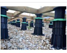 8 jouplast verande estensori (Medio Nero bit), si adatta travetto piedistallo a 60mm