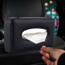 Luxury Back Car Seat Headrest Leather Tissue Paper Holder Auto Accessories USA