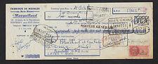 """FONTENAY-sous-BOIS (94) USINE de MEUBLES en bois blanc """"MARGUILLARD"""" en 1953"""