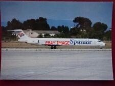 POSTCARD SPANAIR DC9-83 AEROPLANE
