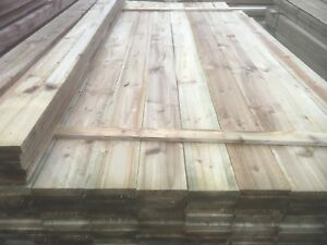 Tanalised Timber Fence Boards Palings 100x19mm