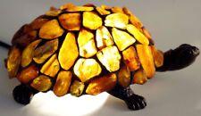 BERNSTEINLAMPE Schildkröte TIFFANY - BERNSTEIN LAMPE
